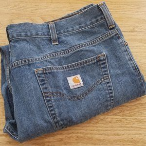 Carhartt Loose Fit Blue Jeans Size 40